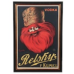 Leonetto Cappiello Advertising Poster for Relsky Vodka, Early 20th Century