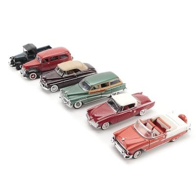 Danbury Mint 1953 Studebaker, Franklin Mint 1955 Bel Air, Other Diecast Vehicles