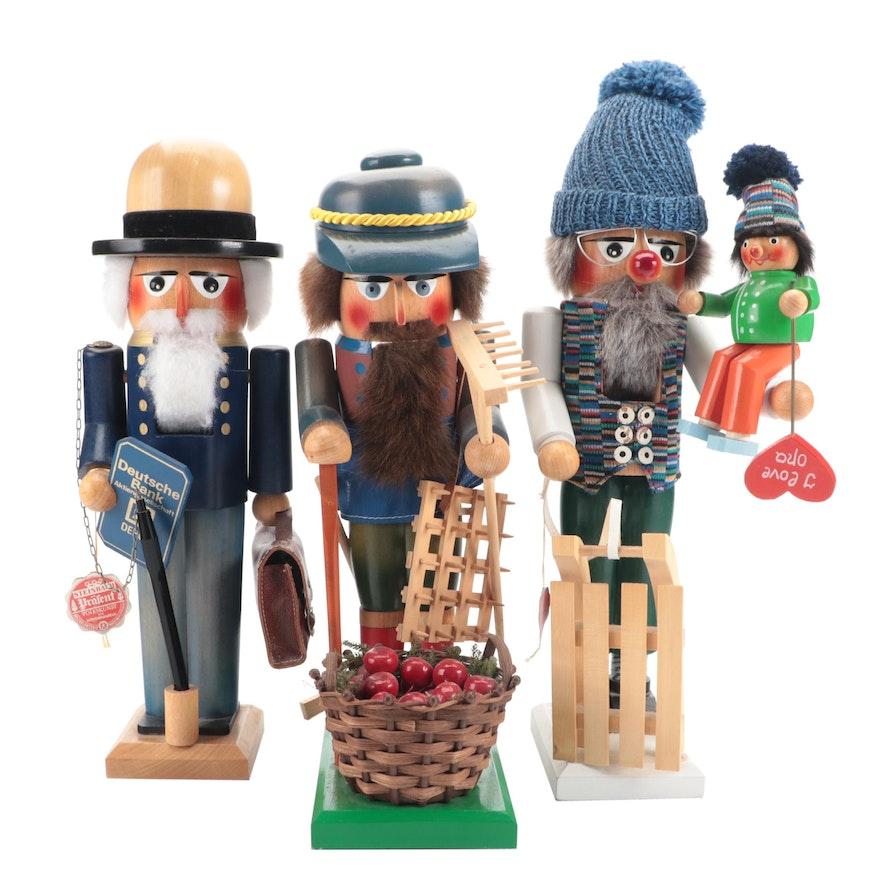 Steinbach Handmade Wooden Nutcrackers