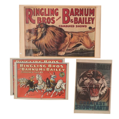 Ringling Bros. and Barnum & Bailey Offset Lithograph Posters