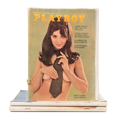 """Playboy"" Magazine Issues, 1960s"