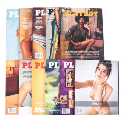 """""""Playboy"""" Magazines Featuring Playmate of the Year 2016 and More"""