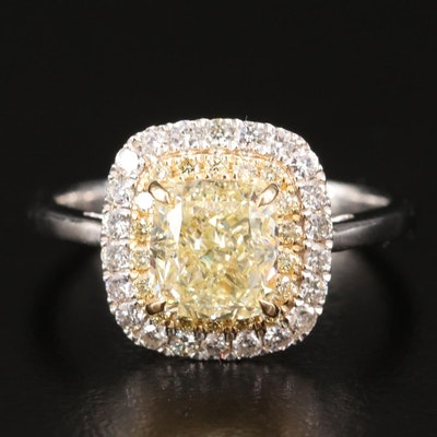 18K 2.57 CTW Diamond Ring