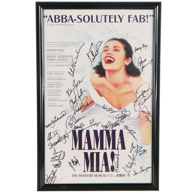 "Broadway Advertising Poster ""Mamma Mia!,"" 2003"