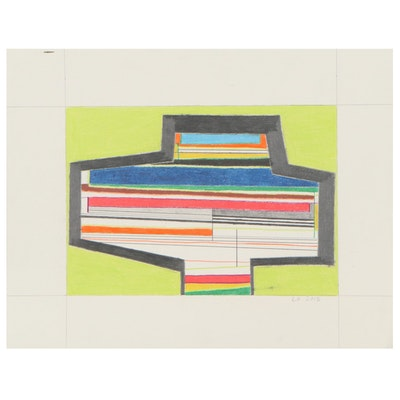 Lawton Orchard Abstract Drawing, 2013