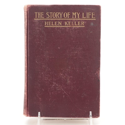 """First Edition """"The Story of My Life"""" by Helen Keller, 1903"""