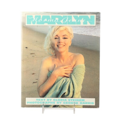 """First Edition, First Printing """"Marilyn"""" by Gloria Steinem, 1986"""