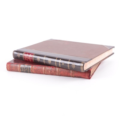 """Illustrated """"With the Flag to Pretoria"""" Two-Volume Set by H. W. Wilson"""