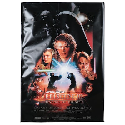 """""""Star Wars: Episode III"""" Offset Lithograph Movie Poster, 2005"""