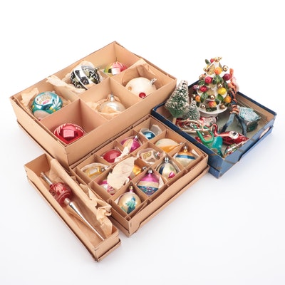 Glass and Other Christmas Ornaments and Décor