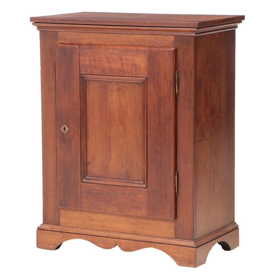 Walnut Four-Drawer Cabinet, 19th Century