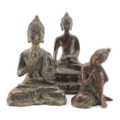 Indian and Chinese Bronze Figures of the Buddha