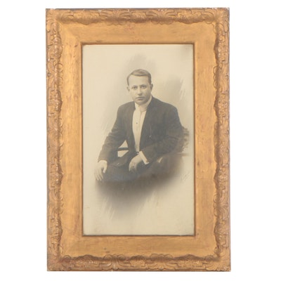 Silver Gelatin Photograph of Gentleman, Early 20th Century