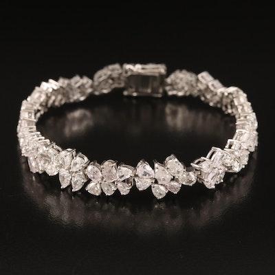 18K 11.98 CTW Diamond Bracelet