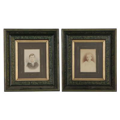 Portrait Photographs of Children, Late 19th-Early 20th Century