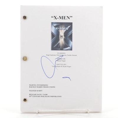 "Hugh Jackman Signed ""X-Men"" Movie Script Copy"