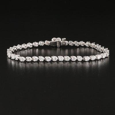 18K 5.00 CTW Diamond Bracelet