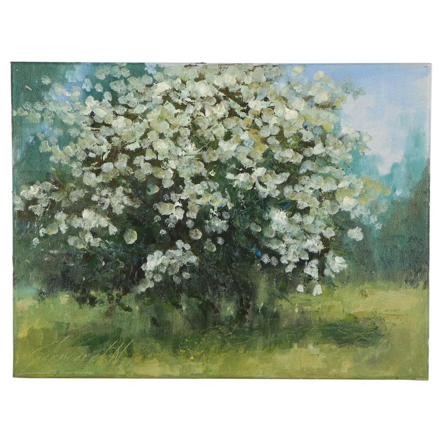 "Garncarek Aleksander Oil Painting ""Kizew"""