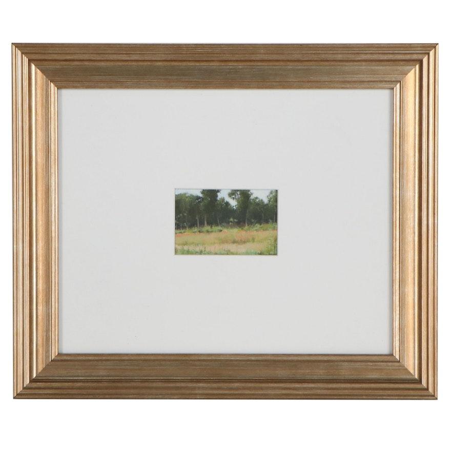 Adam Mysock Summer Landscape Oil Painting