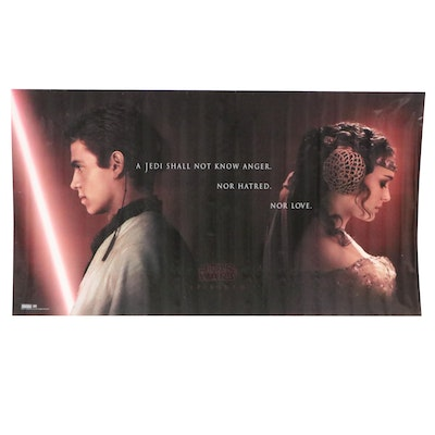 """""""Star Wars: Episode II"""" Large-Scale Offset Lithograph Movie Poster, 2002"""
