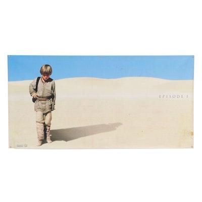 """Star Wars: Episode I – The Phantom Menace"" Offset Lithograph Movie Poster, 1999"