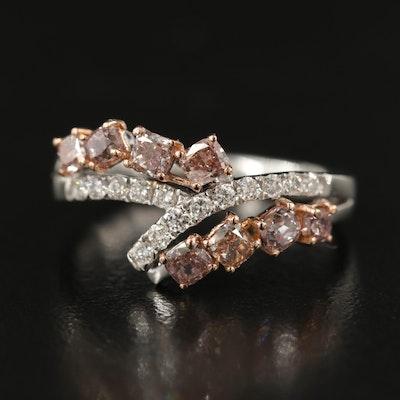 18K 1.04 CTW Diamond Ring