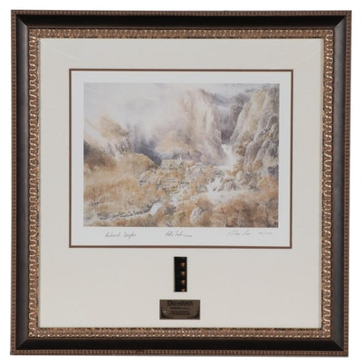 """""""Lord of the Rings"""" Signed Limited Edition """"Rivendell"""" Lithograph 59/1000  COA"""