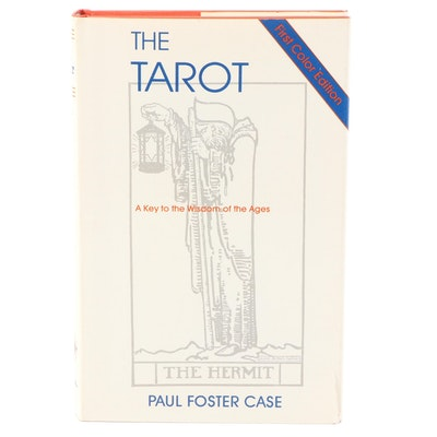 """""""The Tarot"""" by Paul Foster Case, 1990"""