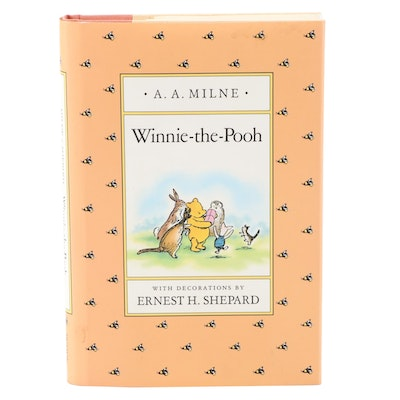 """Illustrated """"Winnie-the-Pooh"""" by A. A. Milne, 1988"""