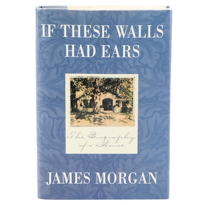 """Signed First Printing """"If These Walls Had Ears"""" by James Morgan, 1996"""