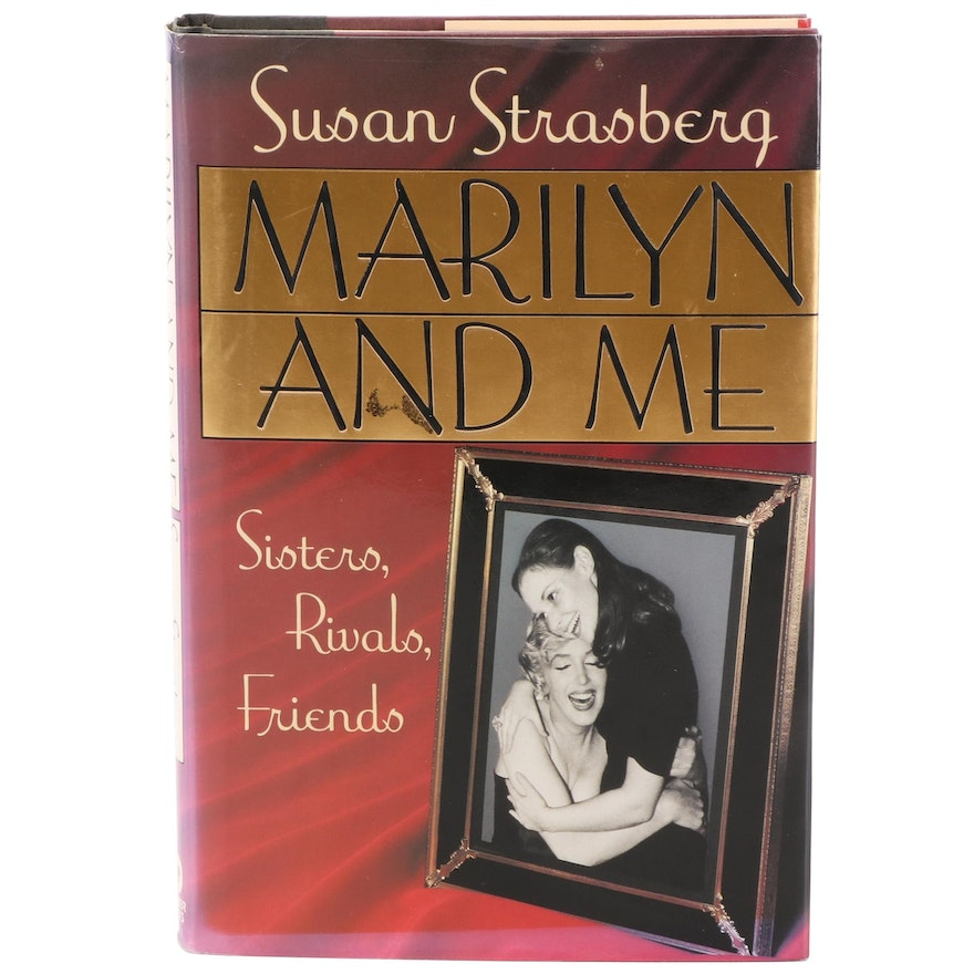 """Signed First Printing """"Marilyn and Me"""" by Susan Strasberg, 1992"""