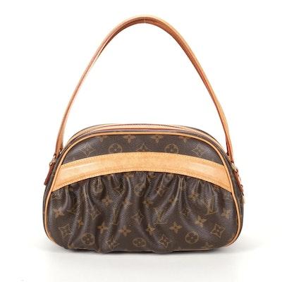 "Louis Vuitton ""Klara"" Shoulder Bag In Monogram Canvas and Vachetta Leather"