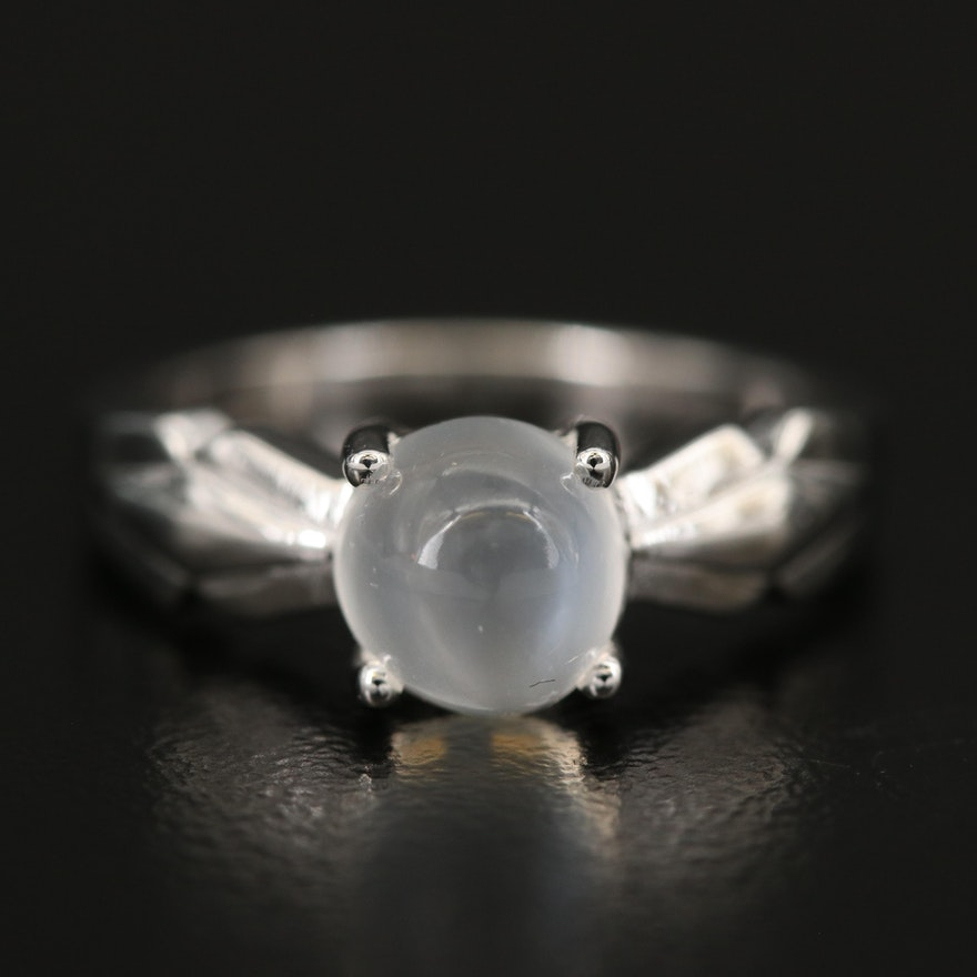 Sterling Moonstone Ring