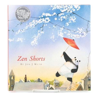 "Illustrated ""Zen Shorts"" by Jon J. Muth, 2015"