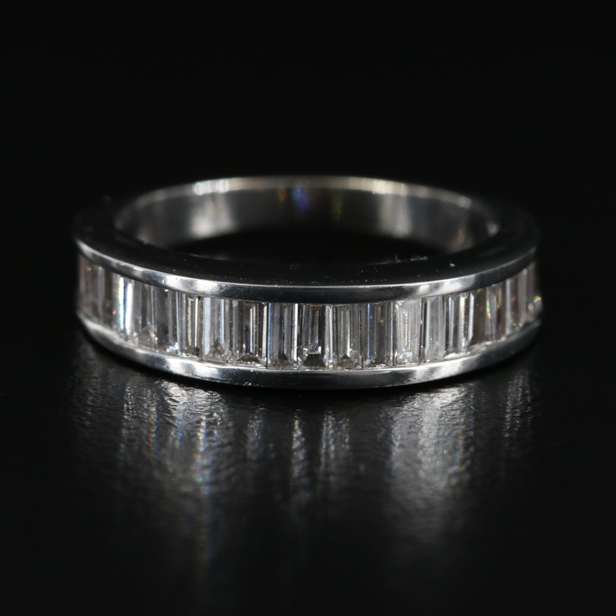 14K Channel Set 1.28 CTW Diamond Ring