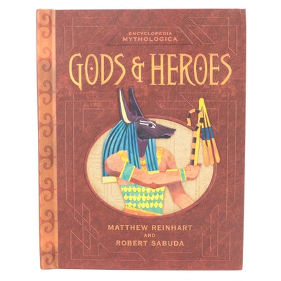 """First Edition """"Gods & Heroes"""" Pop-Up Book by Matthew Reinhart and Robert Sabuda"""