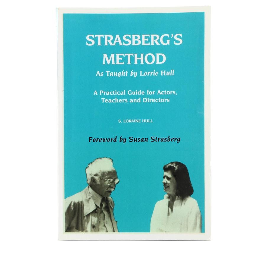 """Signed """"Strasberg's Method"""" by Lorrie Hull, 2004"""