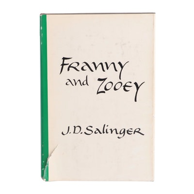 """First Edition """"Franny and Zooey"""" by J. D. Salinger, 1961"""