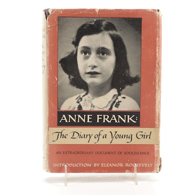 """Early American Printing """"The Diary of a Young Girl"""" by Anne Frank, 1952"""