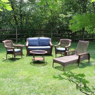 Hampton Bay Resin Wicker Patio Furniture