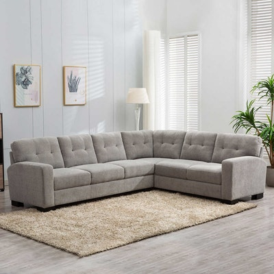 """""""Annadale"""" Two-Piece Fabric Sectional"""