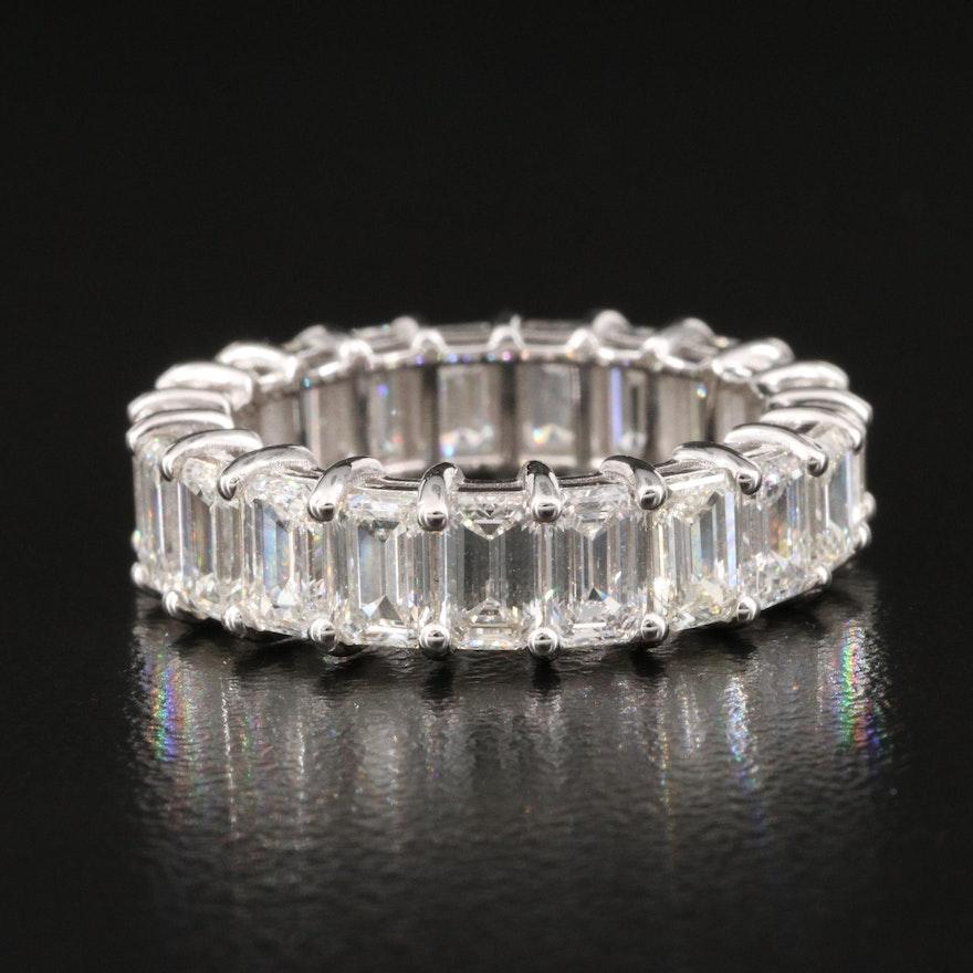 18K 5.66 CTW Diamond Eternity Band