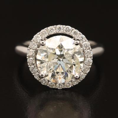 14K 4.87 CTW Diamond Ring