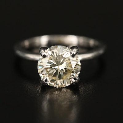 14K 2.69 CT Diamond Solitaire Ring
