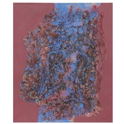 Don Stacy Large-Scale Oil Painting, Circa 1980