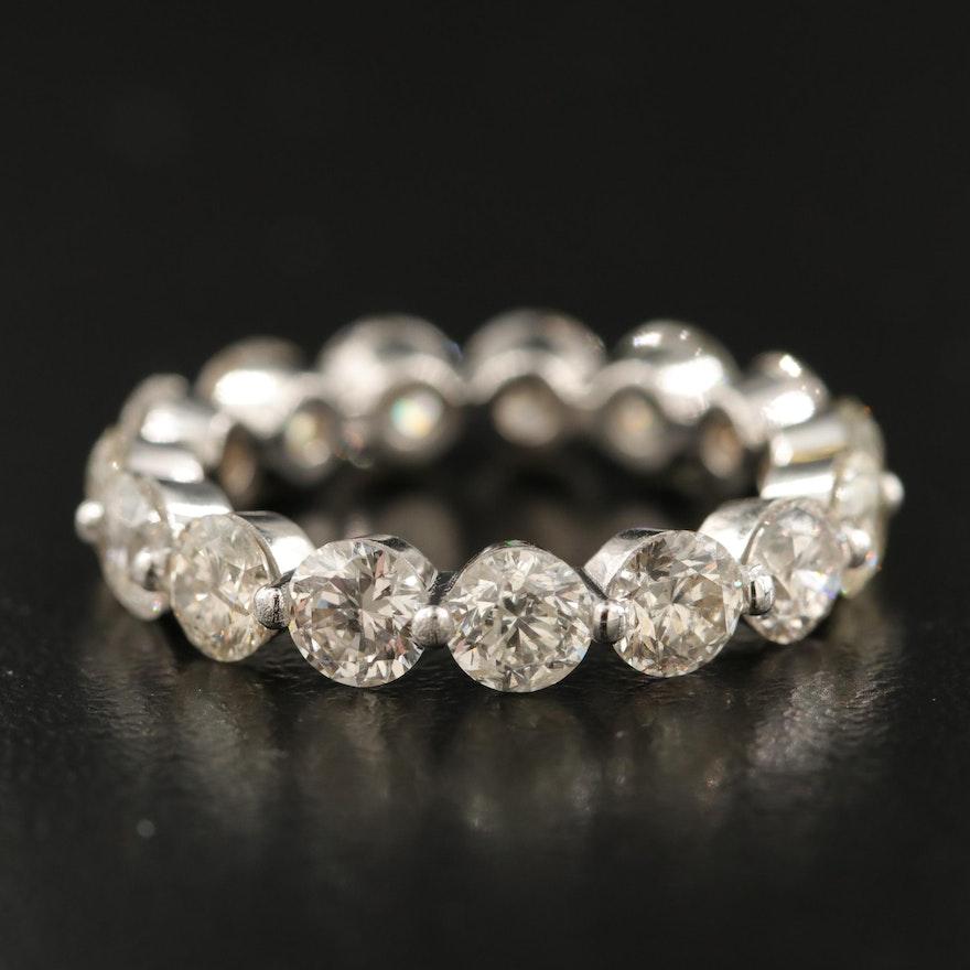 14K 4.86 CTW Diamond Eternity Band