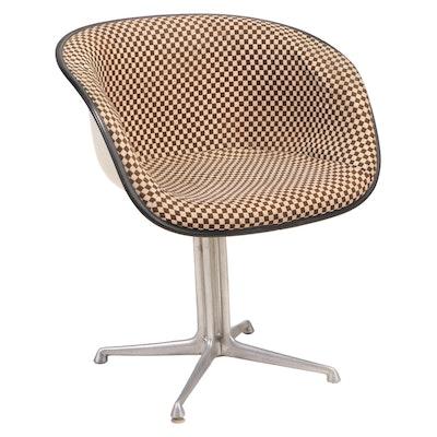 """Eames for Herman Miller """"La Fonda"""" Upholstered Molded Fiberglass Armchair"""