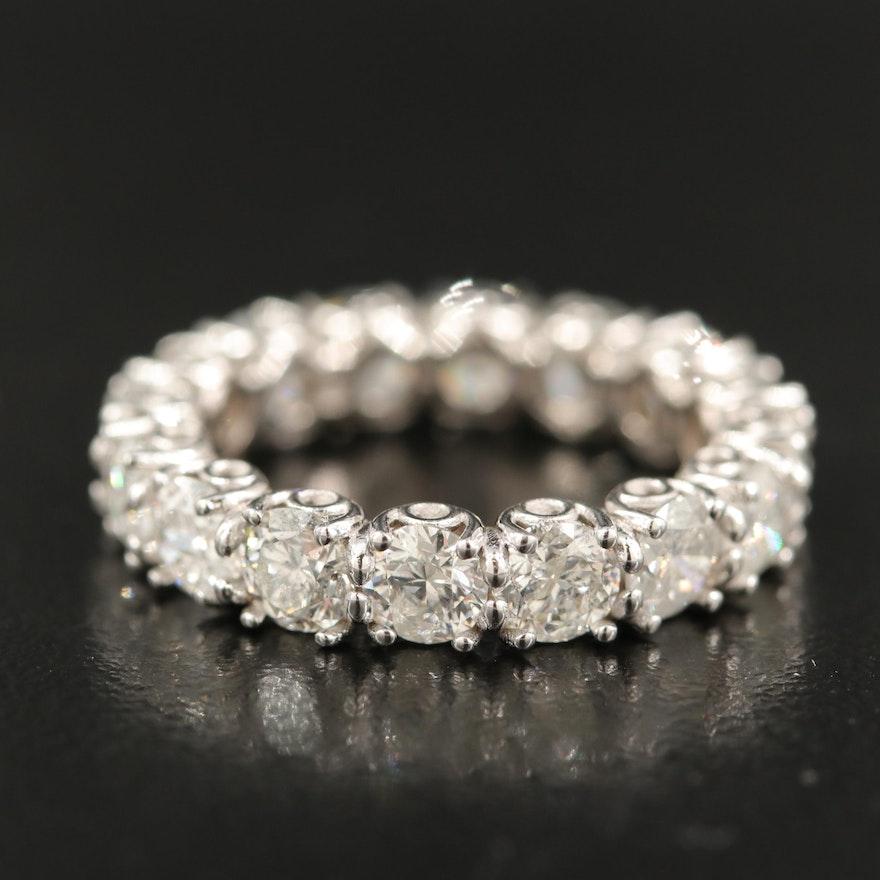 14K 4.26 CTW Diamond Eternity Band