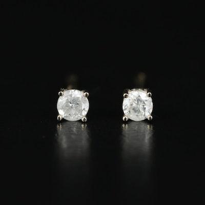 14K 0.16 CTW Diamond Stud Earrings