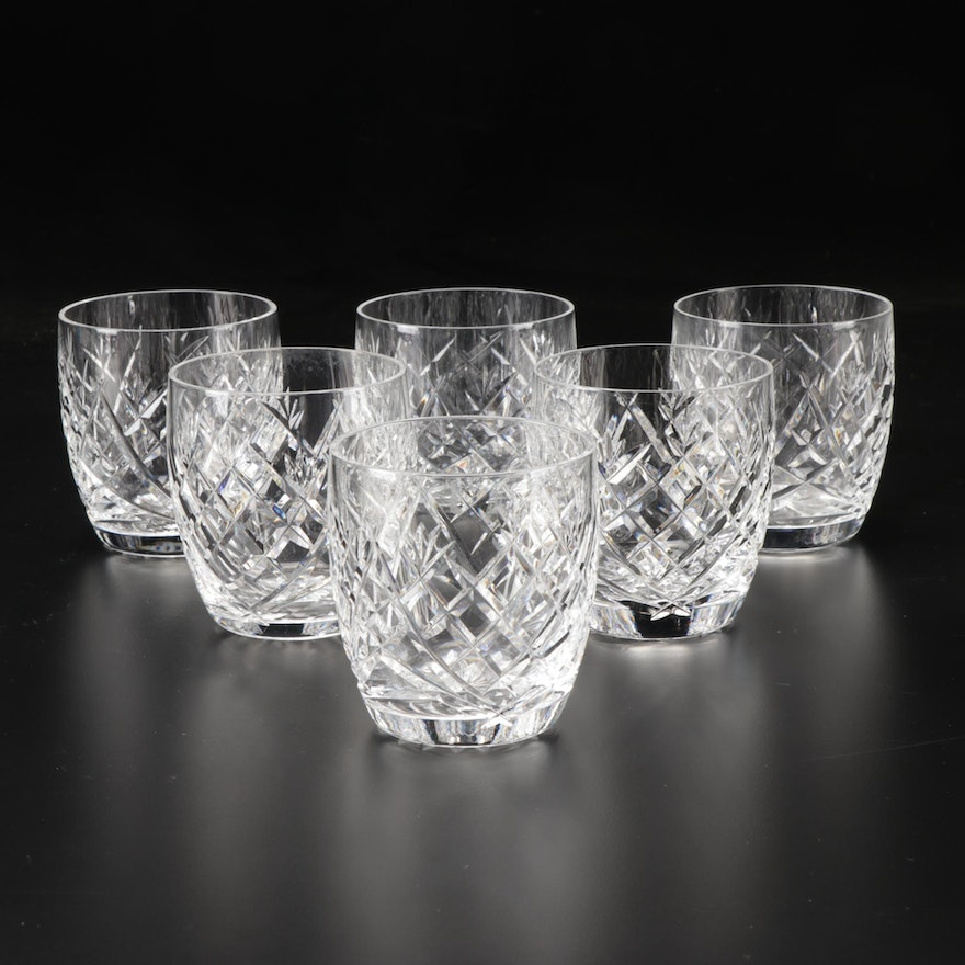 """Waterford """"Donegal"""" Crystal Old Fashioned Glasses"""
